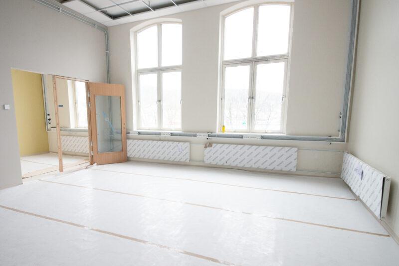 Et tomt rom i skolebygget, Nordnes skole