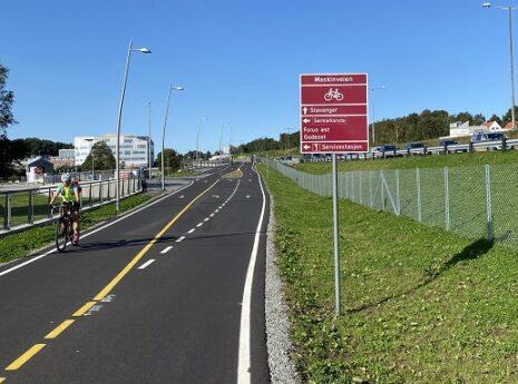 Bilde av Sykkelstamvegen