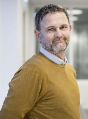 Portrett av regionleder i Bodø, Svein Helge Eidissen